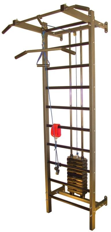 Тренажер PRO-T с грузоблоками на 50 кг (аналог Бубновского) - Кроссоверы, артикул:2211