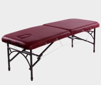 кладной массажный стол Vision Apollo I бордовый - Массажные столы, артикул:7337