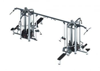 Модуль из 8 станций AeroFit Professional Inotec Functional Line MJ-8 - Со встроенными весами, артикул:10427