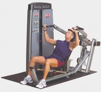 Жим от груди и плеч Body-Solid Pro-Dual DPRS-SF - Со встроенными весами, артикул:9511