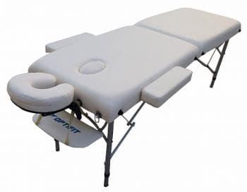Складной массажный стол Optifit Royal белый - Массажные столы, артикул:7333