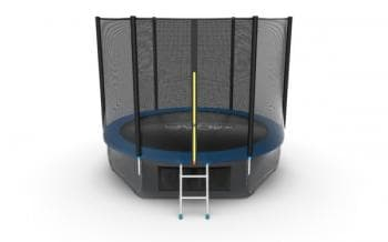Батут Evo Jump External 10ft (Blue) + Lower net - , артикул:10769
