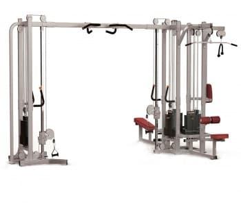5-ти стековый тренажерный комплекс AeroFit Professional Impulse Functional IF8127+IF8127OPT+ IF8125 - Со встроенными весами, артикул:10352
