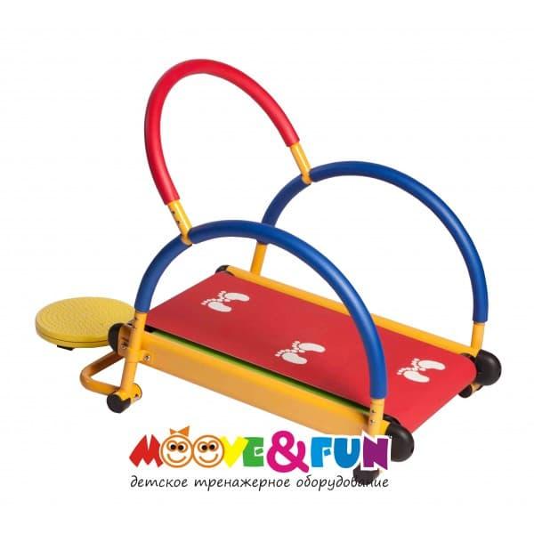 Тренажер детский механический   Беговая дорожка   с диском Твист NEW - , артикул:3898