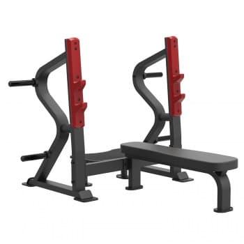 Олимпийская горизонтальная скамья для жима Aerofit Professional Impulse Sterling SL7028 - Для жима штанги, артикул:10280