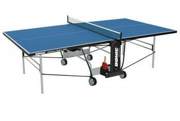 Теннисный стол Donic Outdoor Roller 800 синий - Теннисные столы всепогодные, артикул:6311