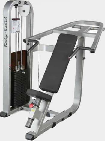 Наклонный жим от груди Body Solid ProClub SIP-1400G - Со встроенными весами, артикул:9495