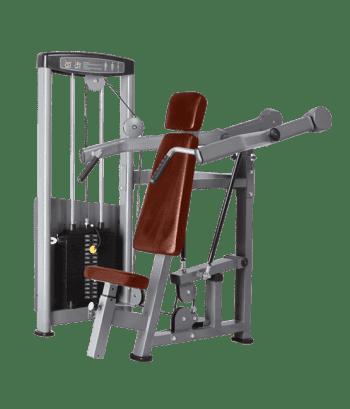 Жим от плеч BRONZE GYM D-003 - Со встроенными весами, артикул:6828