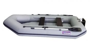 Надувная лодка Хантер 300 ЛТН серый - Хантер, артикул:6246
