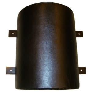 Подушка настенная PRO полукруглая кожа - Настенные подушки, артикул:4585