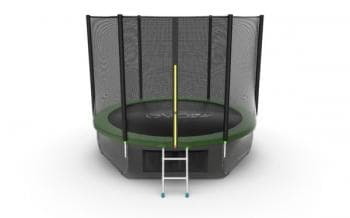 Батут Evo Jump External 10ft (Green) + Lower net - , артикул:10768
