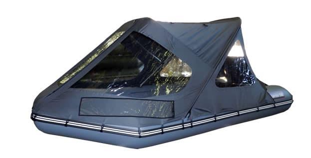 Тент трансформер на лодку Хантер 340 - Акссуары к лодкам Хантер, артикул:4284
