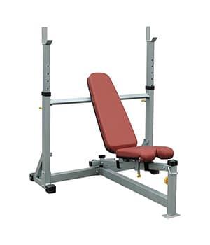 Олимпийская, многопозиционная скамья Aerofit IFOB - Для жима штанги, артикул:6802