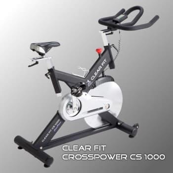 Спин-байк Clear Fit CrossPower CS 1000 - Велотренажеры, артикул:10051