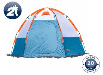 Палатка для зимней рыбалки World of Maverick ICE 2 blue - Палатки, артикул:8094