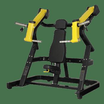 Жим от груди под наклоном Bronze Gym XA-02 - Со встроенными весами, артикул:8403