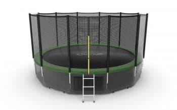 Батут Evo Jump External 16ft (Green) + Lower net - Разное, артикул:10774
