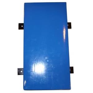 Подушка настенная 30х60х15см с металлическим креплением - Настенные подушки, артикул:4583