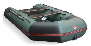 Надувная лодка Хантер 320 ЛКА зеленый - Хантер, артикул:9145