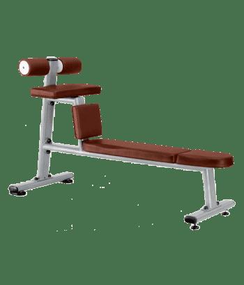 Скамья для скручиваний горизонтальная BRONZE GYM J-035 - Для пресса и спины, артикул:6813