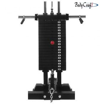 Стек 90 кг Body Craft F200 - Для жима штанги, артикул:5581