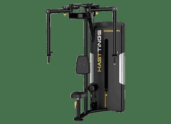 Пек-флай/задняя дельта Hasttings Digger HD003-1 - Со встроенными весами, артикул:6927