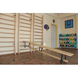 Скамья гимнастическая наклонная 3м - Скамьи гимнастические, артикул:4560