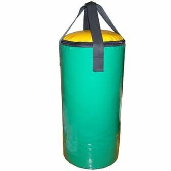 Мешок боксерский класс Любитель 25см высота 60см, цвет: зеленый - Боксерские груши, артикул:9766