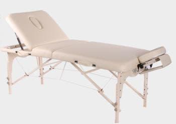 Складной массажный стол Vision Juventas Deluxe бежевый - Массажные столы, артикул:7352