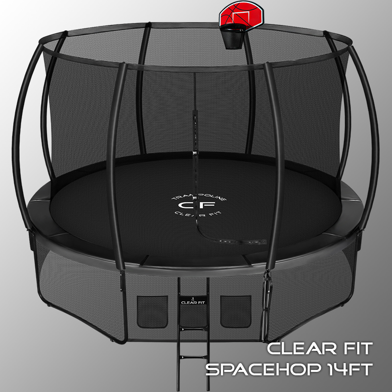 Батут Clear Fit SpaceHop 14ft. Фото N2