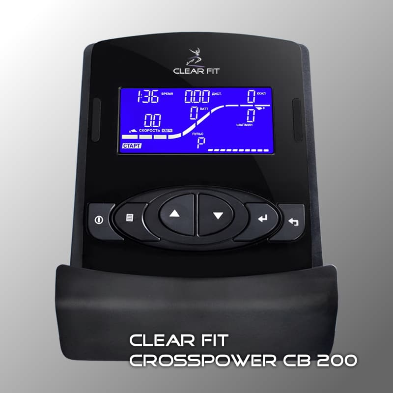 Велотренажер Clear Fit CrossPower CB 200. Фото N3